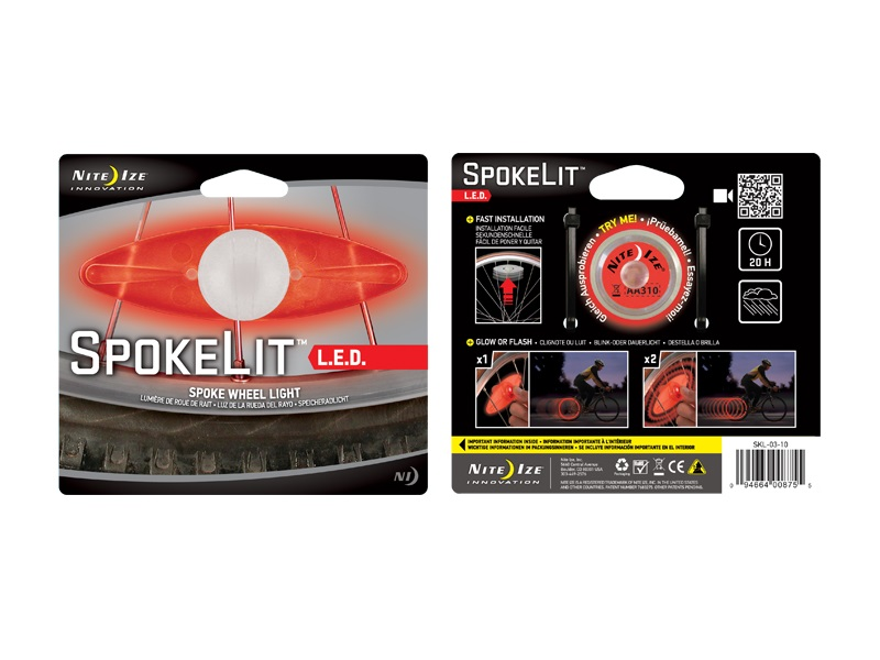 Nite Ize SpokeLit LED - Red